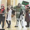 Hugo Vasquez, Institute Scientist, Power Armor, Piper Wright, and RJ MacCready