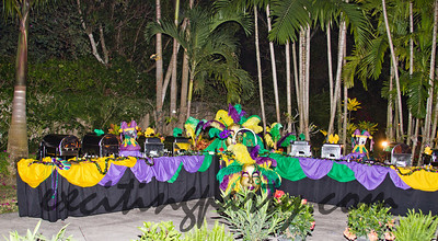 French Consulate School Coconut Groove 2011 Dominion Catering Services Mardi Gras Party  Florida