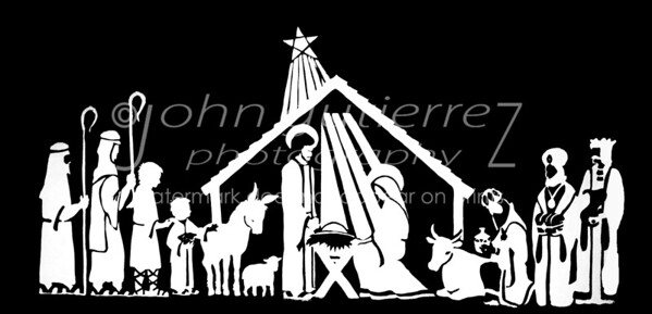 Nativity BW