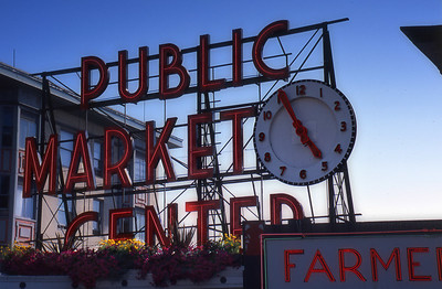 Pike Place Market, in Seattle.