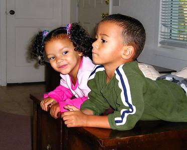 Savannah and Neilvonte.