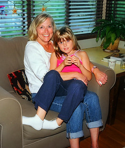 Aunt Carole with Elena, in Seattle.