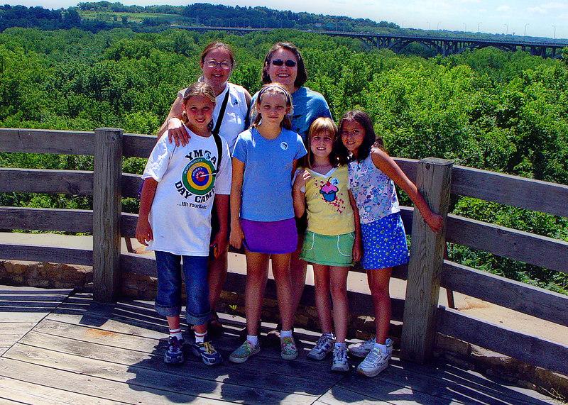All the girls - Kelly, Mary, Emily, Shelly, Elena and Daniela.