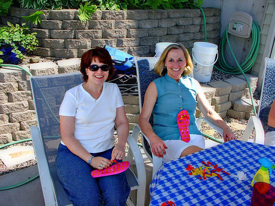 Aunt Carole with Carrie