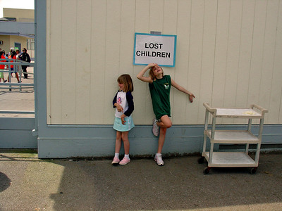 Elena and Emily, lost again.