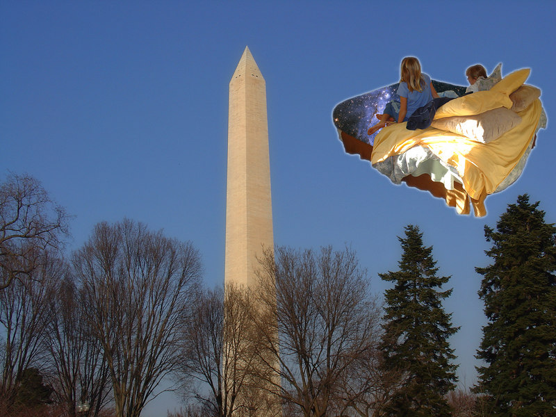 The Starbed heads toward Washington DC...