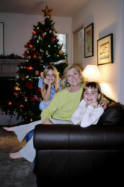 Aunt Carole with Emily and Elena