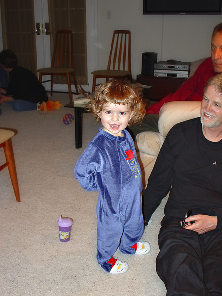 Elise with Andrew