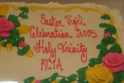 Easter Vigil 2005