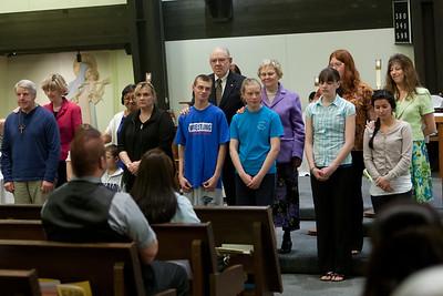 Easter Vigil Baptisms 2012