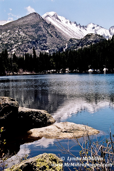 Peace & Serenity.  A time for quiet reflections.  Bear Lake, Colorado.