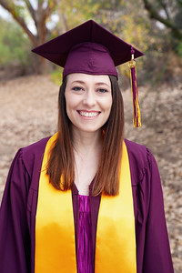 Amanda's graduation from ASU // Spring 2021