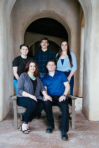 Holly & Brian's Save the Date photo with their family