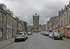 Back through Dufftown. The rain has stopped so we fancy a walk.