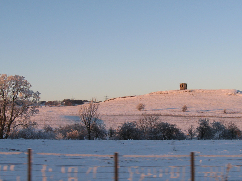 Kenmuir Hill at Sunset.