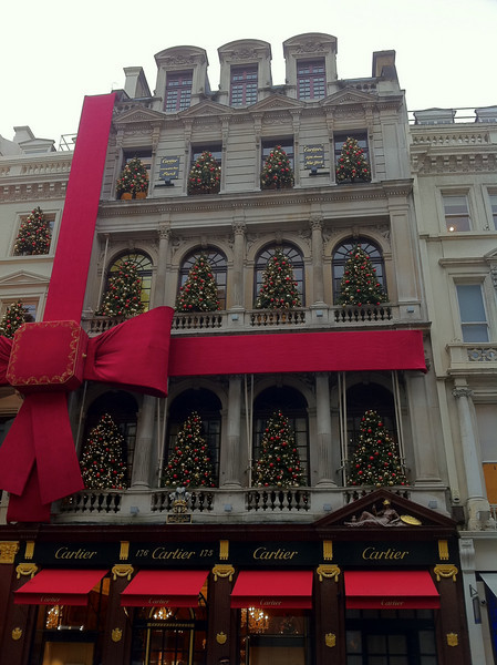 Bond St. If you're going to decorate the shop, why hold back?!