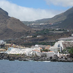 Los Gigantes and the road from Santiago del Tiede