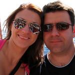 """Self Portrait on the tourist boat """"Flipper Uno"""""""