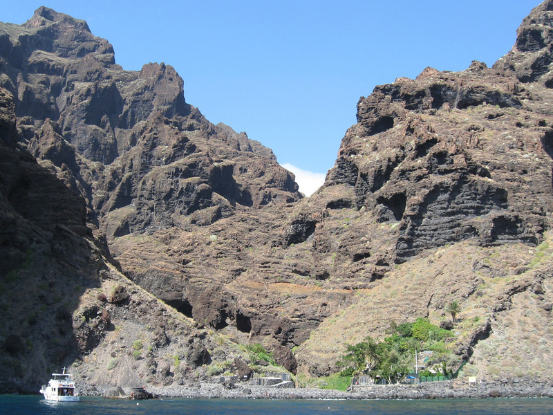 Masca Valley from the Sea