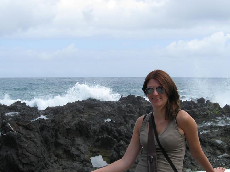 Catherine at Puerto de la Cruz