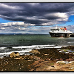 MV Caledonian Isles docked at Brodick, Arran