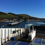 Leaving Cairnryan