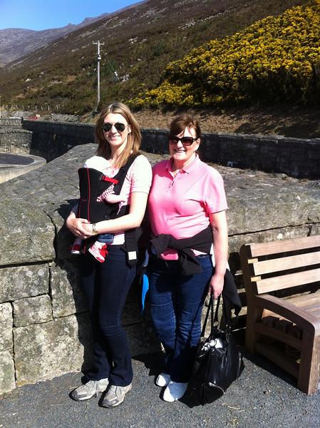 Catherine, Eva and Granny Bernie, Silent Valley, County Down, Northern Ireland