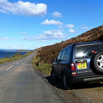 Freelander on Arran