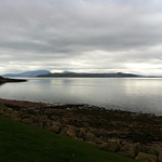 Arran, Bute and Cumbrae from Fintry Bay