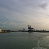 Leaving Zeebrugge