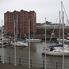 The view of the marina from our hotel room in Hull - the noise from a rowdy wedding when we got to the hotel helped us get an upgrade to an executive room :o)
