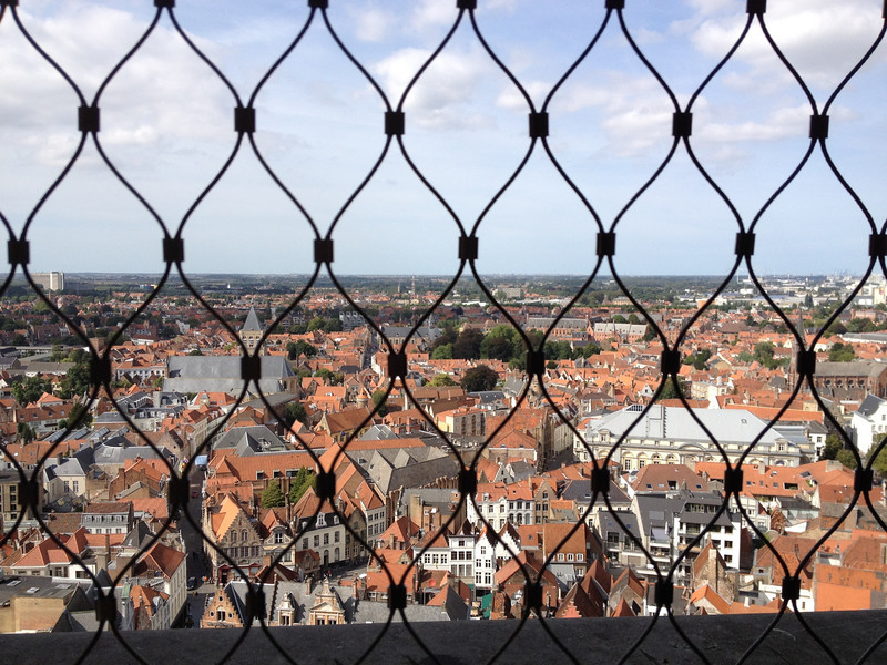 The view from The Belfry