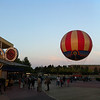 Disney Village and the Panoramagique helium baloon