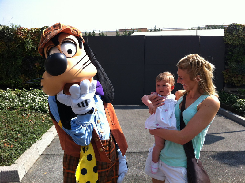 "Goofy, or ""Dingo"" in France. So this is Dingo and the Baby for all you Family Guy fans."