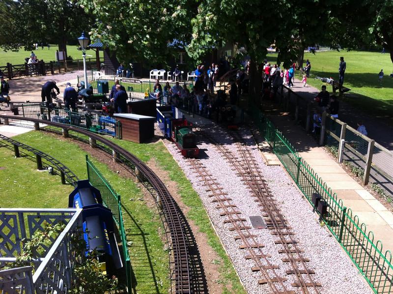 Minature railway at Cutteslowe Park