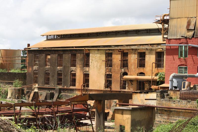 Andrews sugar cane factory