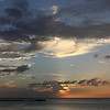 Sunset over Carlisle Bay