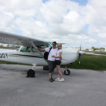 Our other rental, 8P-JOY, A Cessna 172