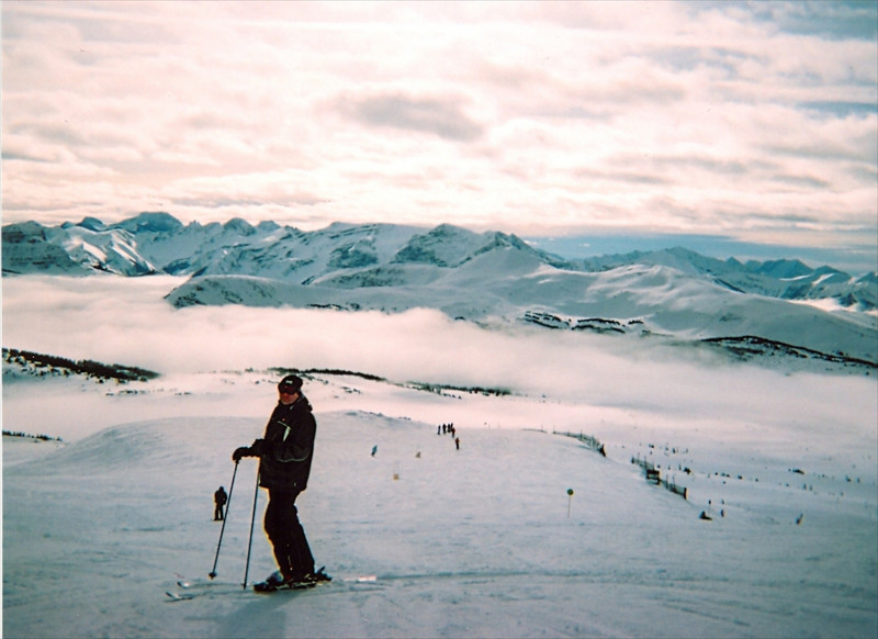Sunshine Village, 8000ft AMSL