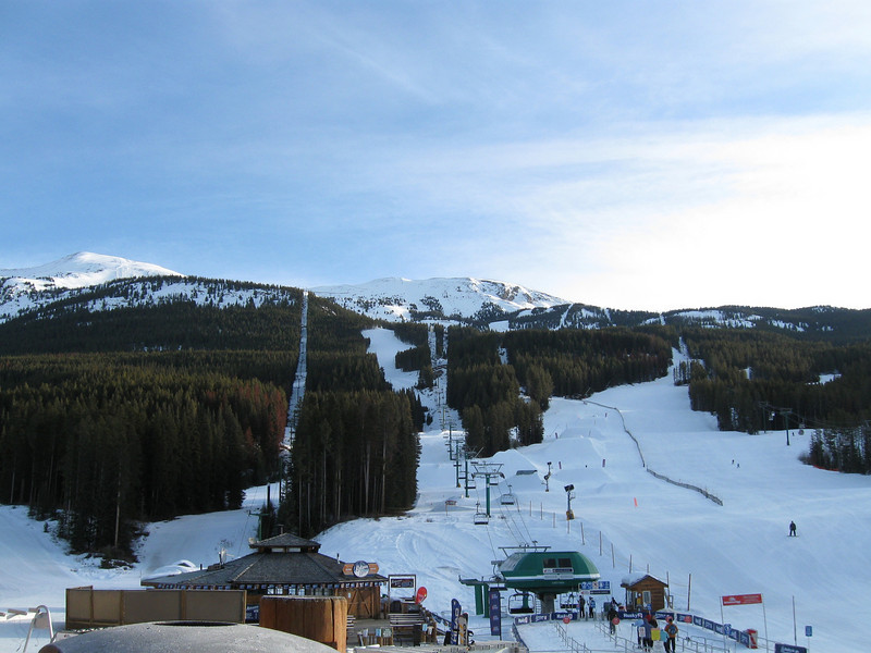The Glacier Express chairlift at Lake Louise