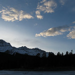 Cascade Mountain at Sunset