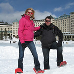 More Snowshoeing at Lake Louise Chateau