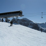 "The ""Top of the World"" chairlift at Lake Louise"