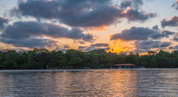 Sunset in Tortuguero - Costa Rica