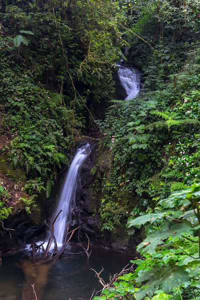 Small waterfall in Costa Rica.