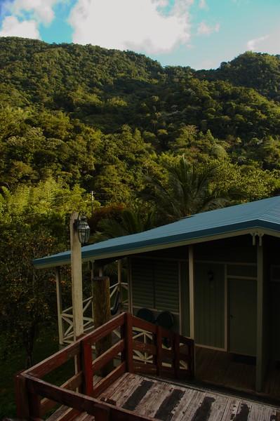 View of a Casa Grande Cabin.