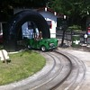 Eva & Catherine driving Sodor Classic Cars  at Drayton Manor.