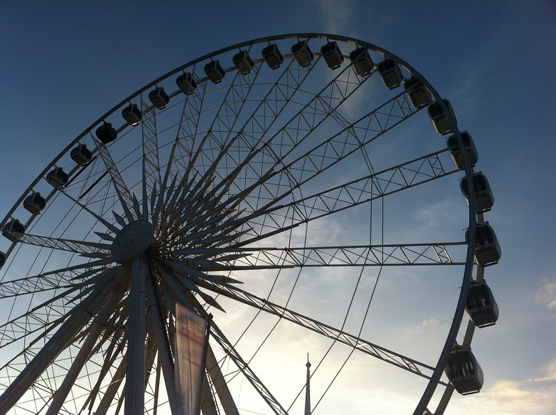 The Liverpool Wheel.