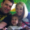 FHowie family photo on the Get Set Go Tree To Adventure in CBeebies Land, Alton Towers.