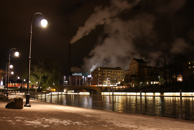 Tampere by Night